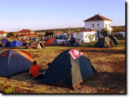 Full of Tents at Camping Bulgaria Sakar Hills
